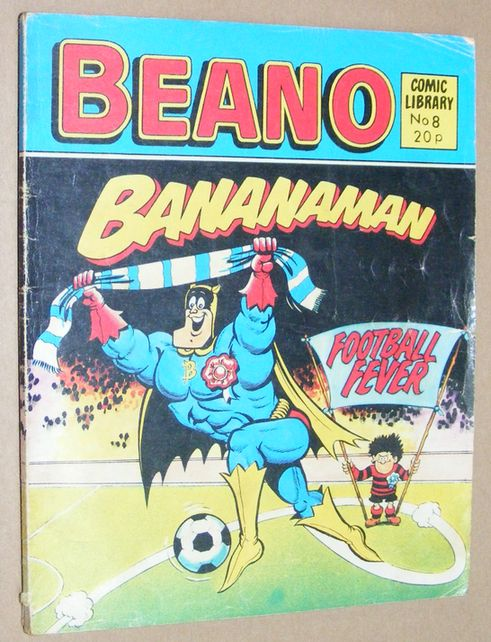 Image for Beano Comic Library No.8 Bananaman: Football Fever