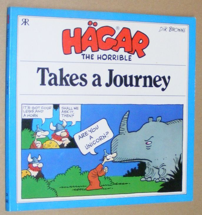 Image for Hägar the Horrible Takes a Journey