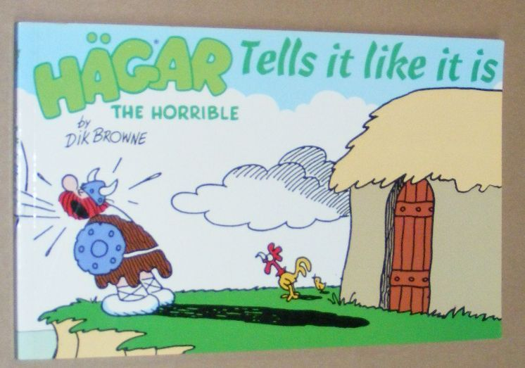 Image for Hägar the Horrible Tells it Like it is