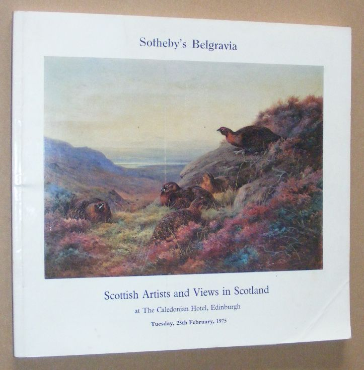 Image for Works by Scottish Artists and Views in Scotland which will be sold by auction on 25th February 1975