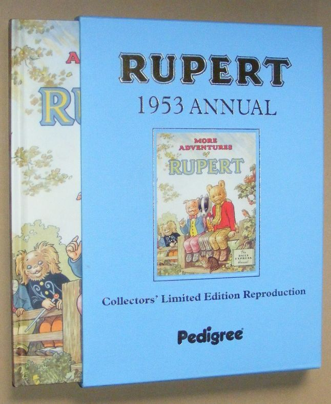 Image for Rupert 1953 Annual Limited Edition Facsimile. More Adventures of Rupert