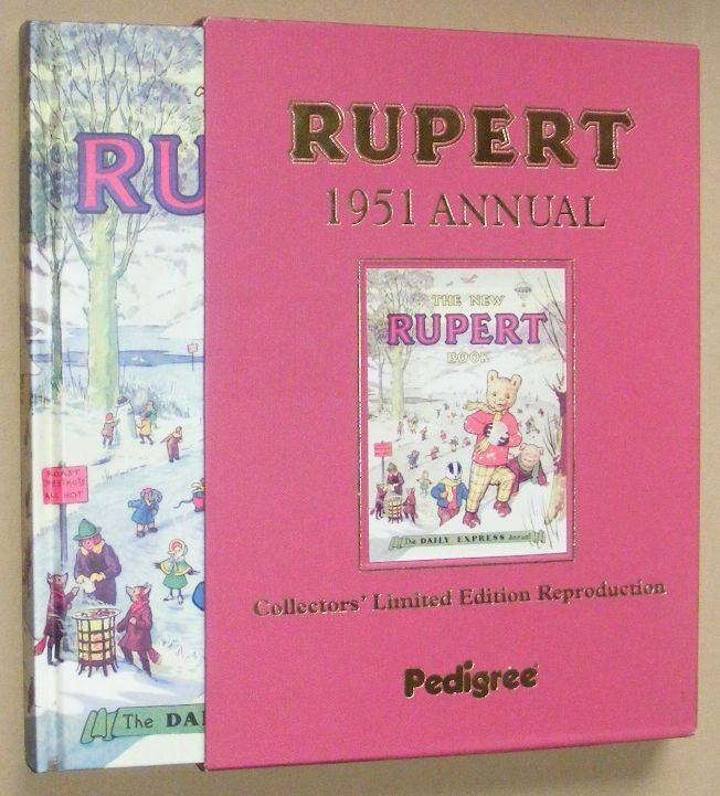 Image for Rupert 1951 Annual Collectors' Limited Edition Reproduction. The New Rupert Book