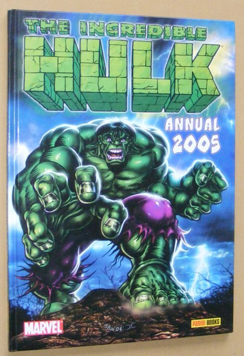 Image for The Incredible Hulk Annual 2005
