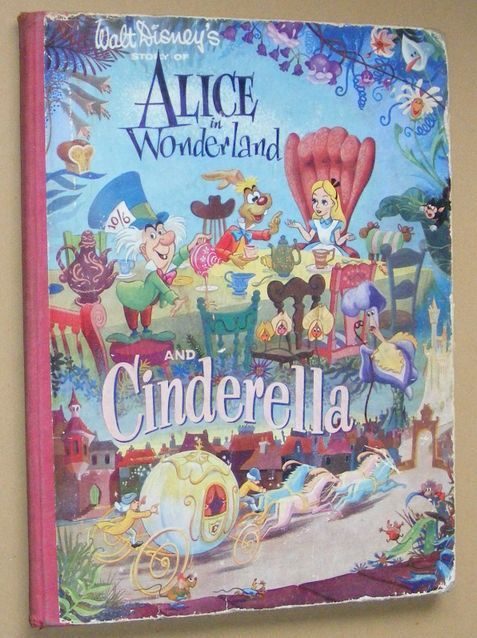 Image for Walt Disney's Story of Alice in Wonderland and Cinderella