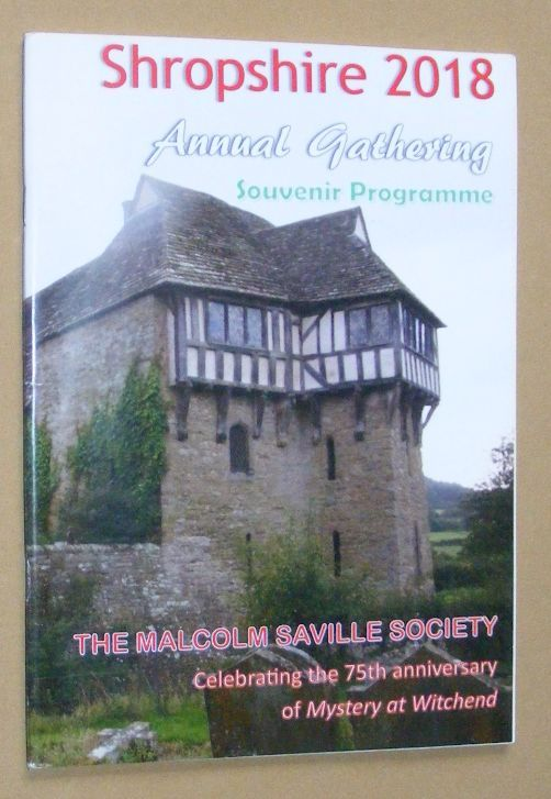 Image for The Malcolm Saville Society Annual Gathering Shropshire, 2018, Souvenir Programme