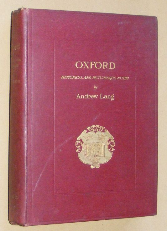 Image for Oxford: brief historical and descriptive notes