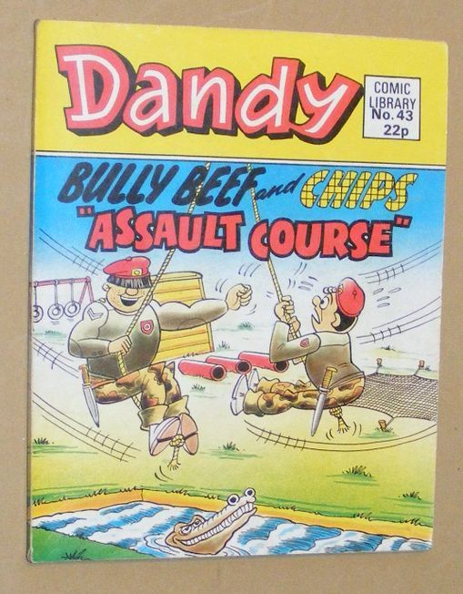Image for Dandy Comic Library No.43: Bully Beef and Chips 'Assault Course'