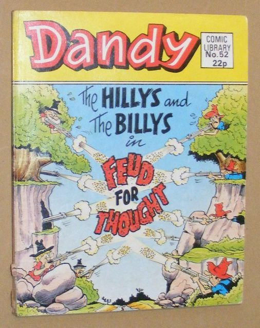 Image for Dandy Comic Library No.52: The Hillys and the Billys in Feud for Thought