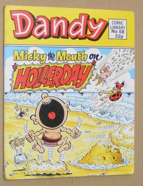Image for Dandy Comic Library No.58: Micky the Mouth in 'Hollerday'