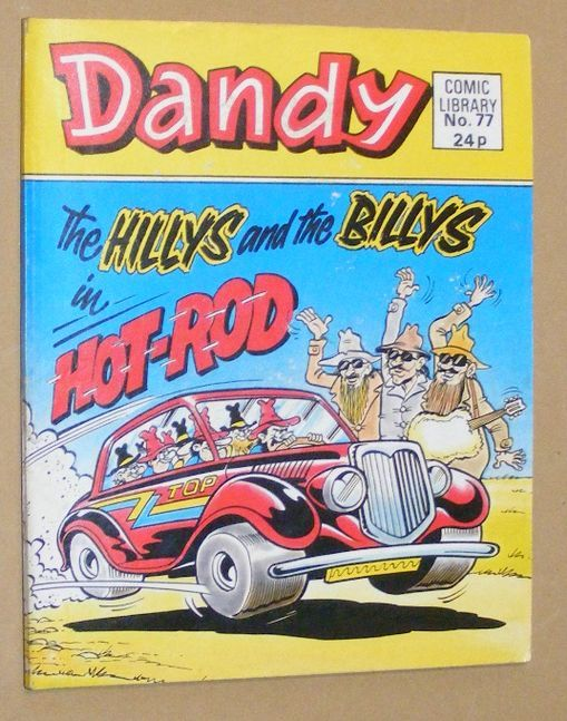 Image for Dandy Comic Library No.77: The Hillys and the Billys in Hot-Rod