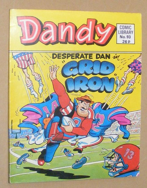 Image for Dandy Comic Library No.93: Desperate Dan in Grid Iron