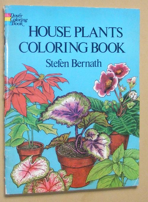 Image for House Plants Coloring Book