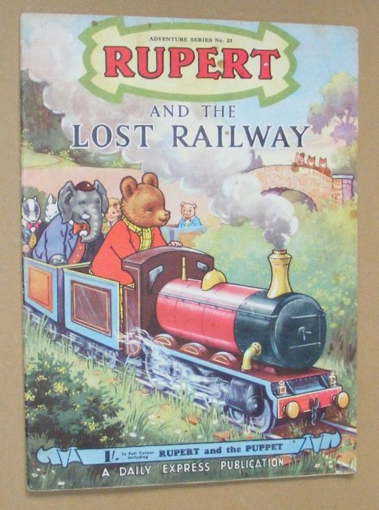 Image for Rupert and the Lost Railway (Adventure Series No.21)