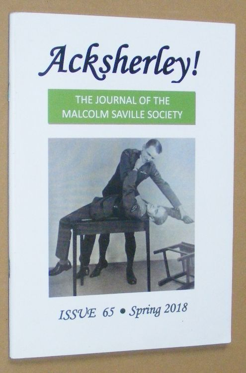 Image for Acksherley! 65, Spring 2018: the Journal of the Malcolm Saville Society