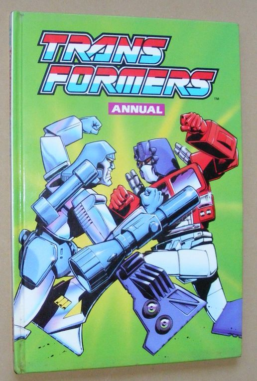 Image for Transformers Annual 1990