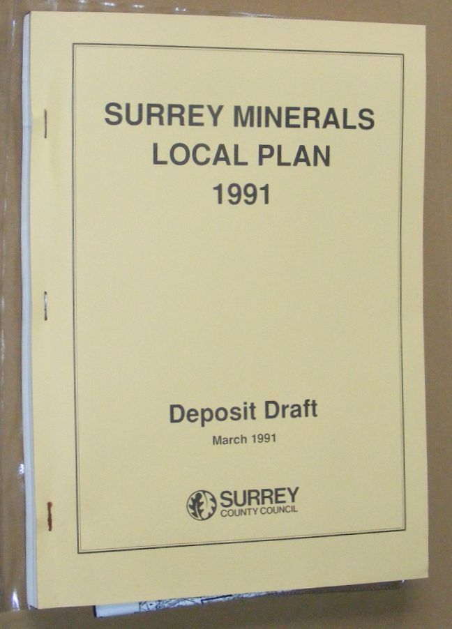 Image for The Surrey Minerals Local Plan 1991 Deposit Draft
