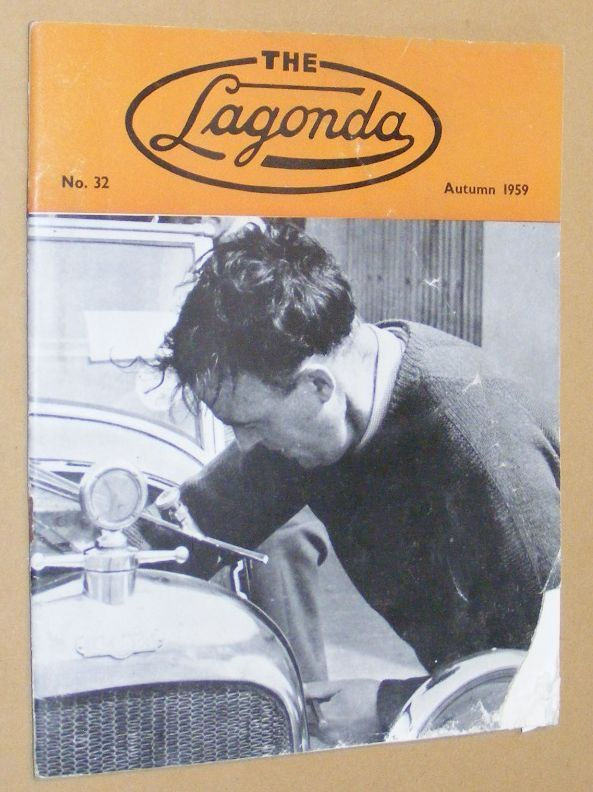 Image for The Lagonda: the magazine of the Lagonda Club: No.32, Autumn 1959