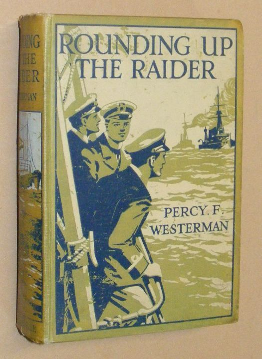 Image for Rounding up the Raider: a naval story of the Great War