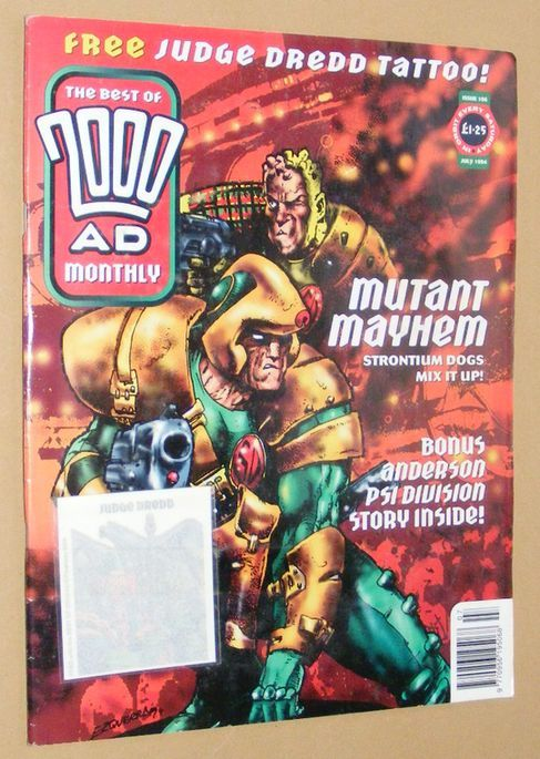 Image for The Best of 2000 AD Monthly 106, July 1994