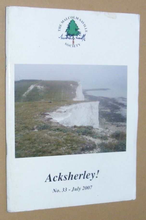 Image for Acksherley! 33, July 2007: the Journal of the Malcolm Saville Society