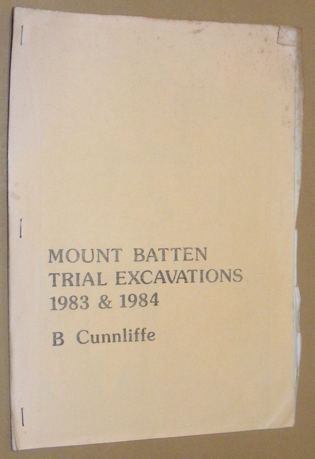 Image for Mount Batten Trial Excavations 1983 & 1984