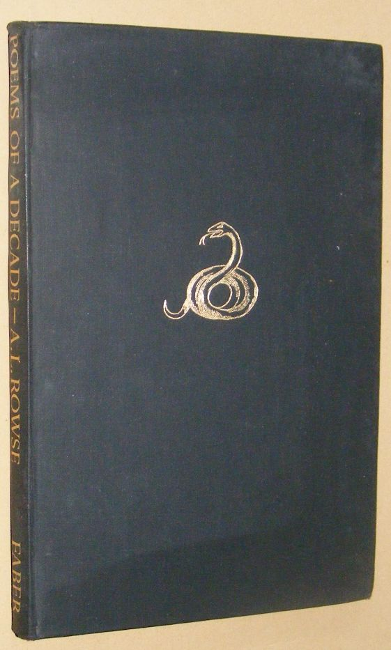 Image for Poems of a Decade 1931-1941