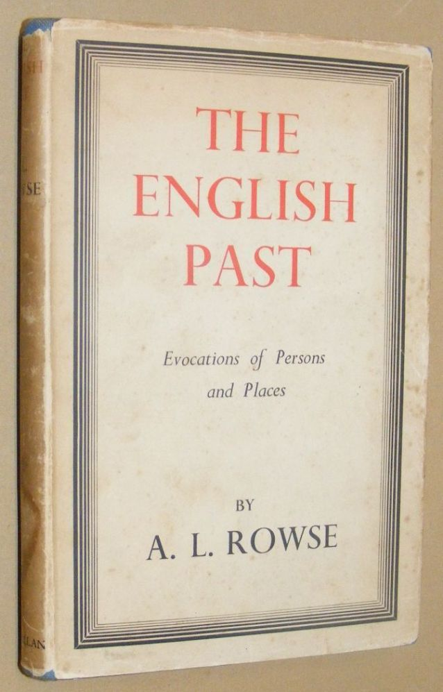 Image for The English Past: evocations of persons and place