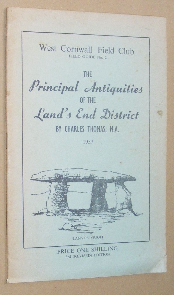Image for The Principal Antiquities of the Land's End District (Cornwall Archaeological Society Field Guide 2)