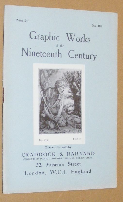 Image for Graphic Works of the Nineteenth Century offered for sale by Craddock & Barnard. No.108