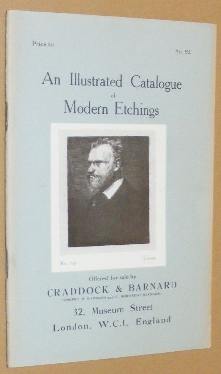 Image for An Illustrated Catalogue of Modern Etchings offered for sale by Craddock & Barnard. No.92