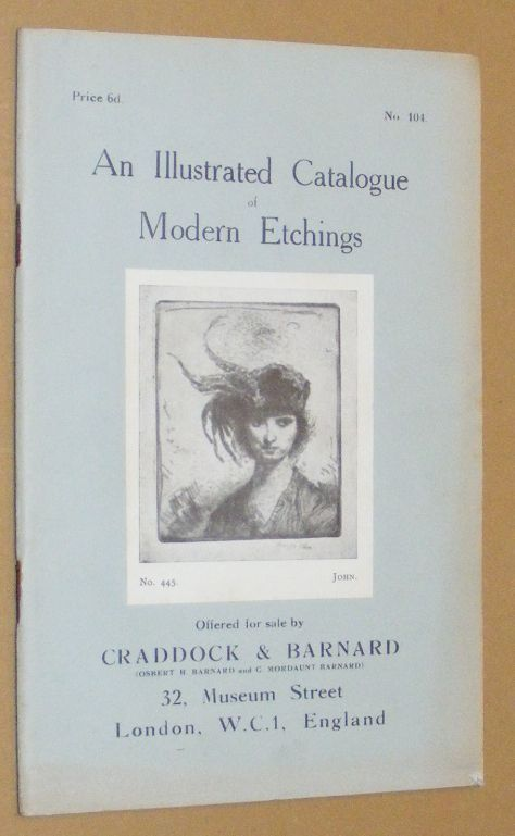 Image for An Illustrated Catalogue of Modern Etchings offered for sale by Craddock & Barnard. No.104