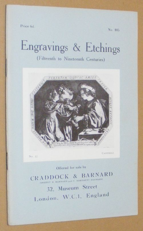 Image for Engravings & Etchings (Fifteenth to Nineteenth Centuries) offered for sale by Craddock & Barnard. No.105