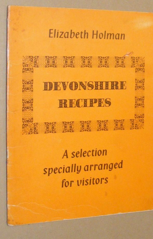 Image for Devonshire Recipes: a selection of dishes