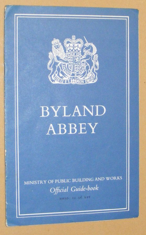 Image for Byland Abbey, Yorkshire (Ministry of Public Building and Works, Ancient Monuments and Historic Buildings)