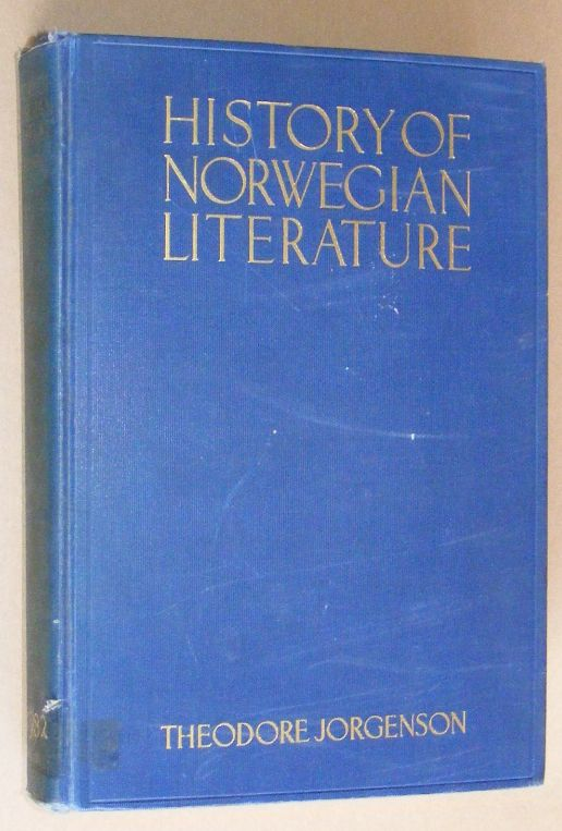 Image for History of Norwegian Literature
