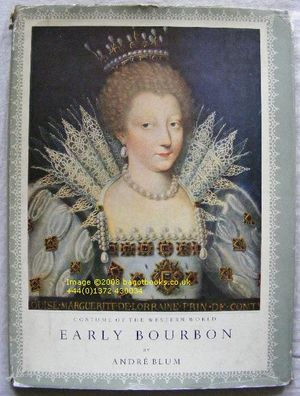 Image for Costume of the Western World: Early Bourbon 1590-1643