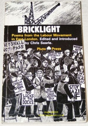 Image for Bricklight: Poems from the Labour Movement in East London