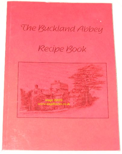 Image for The Buckland Abbey Recipe Book