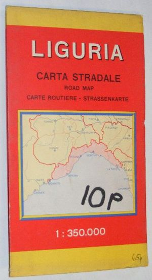 Image for Liguria Carta Stradale (Road Map) 1:350000