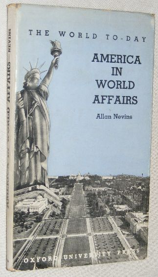 Image for America in World Affairs (The World To-day)
