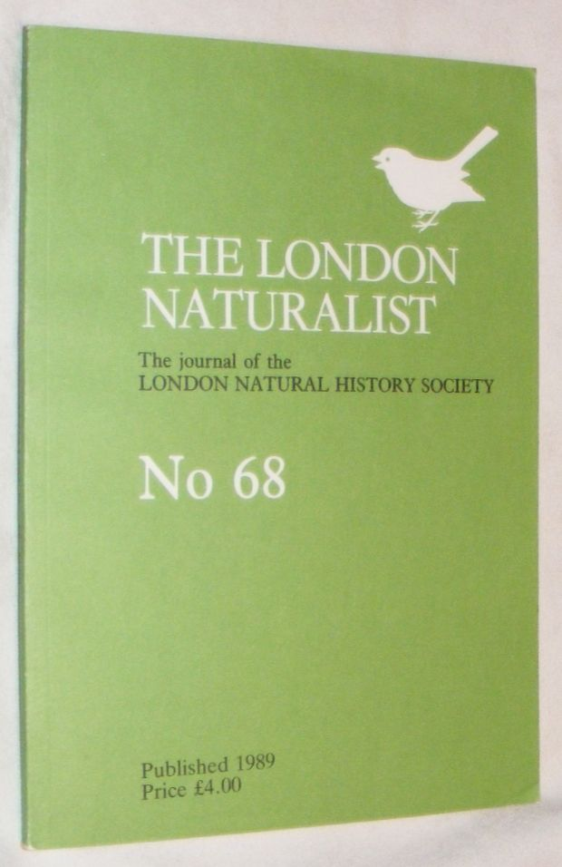 Image for London Naturalist: The Journal of the London Natural History Society #68 1988