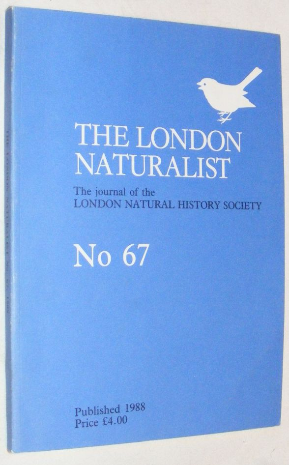 Image for London Naturalist: The Journal of the London Natural History Society #67 1987