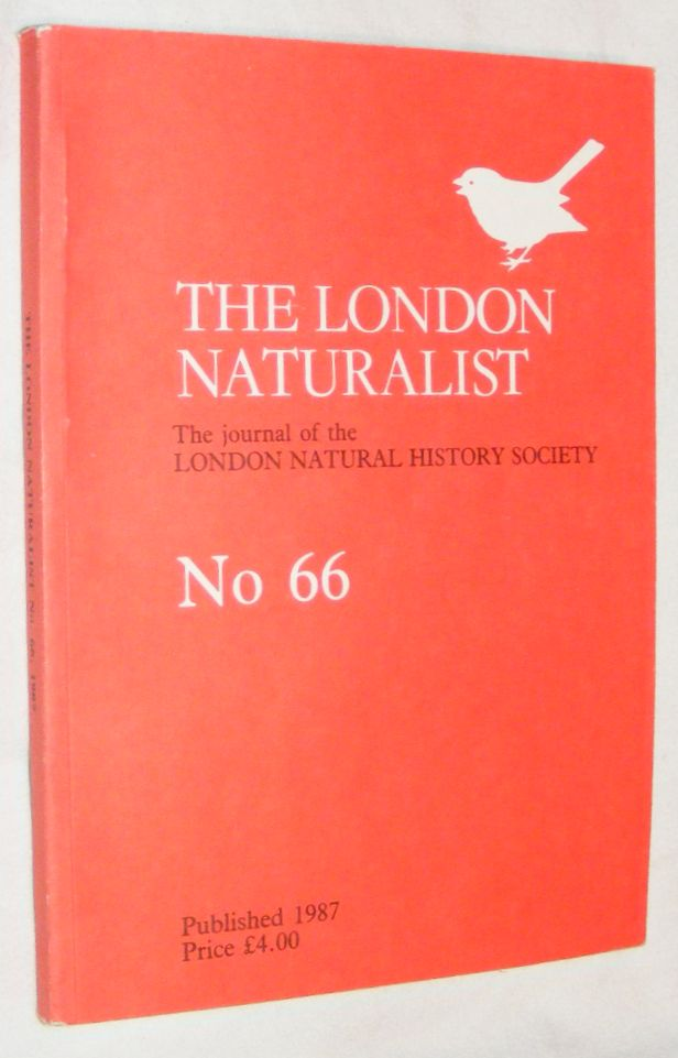 Image for London Naturalist: The Journal of the London Natural History Society #66 1986