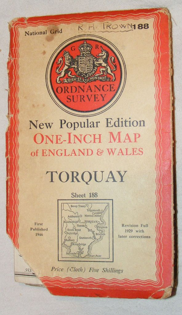 Image for Torquay: One-inch Map of England & Wales Sheet 188, New Popular Edition